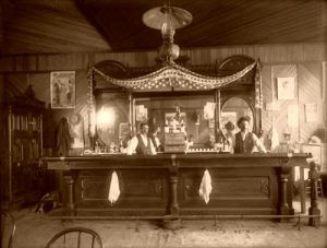 Meeker, Colorado Saloon in 1899