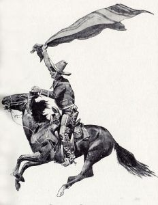 Mexican Vaquero, by Frederic Remington