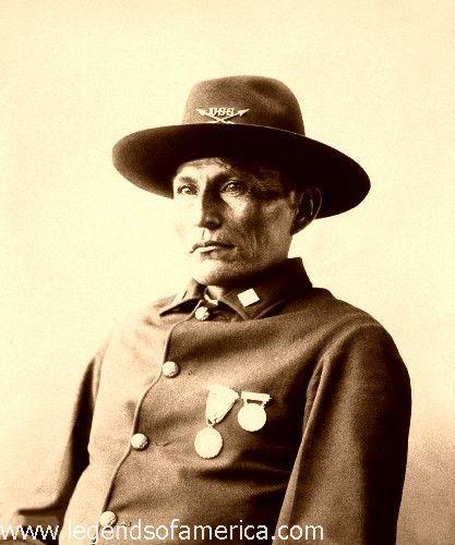 Naiche - Chief of the Chiricahua Apache