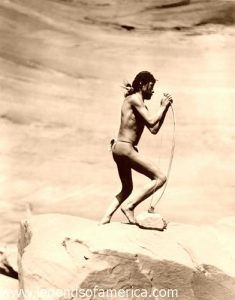 Navajo Stringing Bow 1913