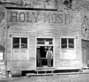 Holy Moses Saloon, Creede, Colorado, 1890