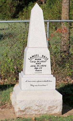 Sam Bass Grave