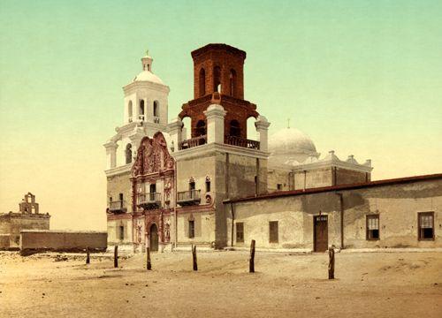 Mission San Xavier del Bac, Detroit Photographic Co, 1902