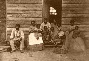 A slave family in 1861
