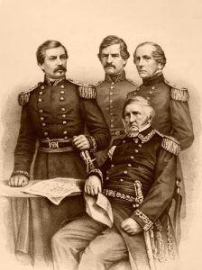 Union Generals, B.B. Russell, 1861