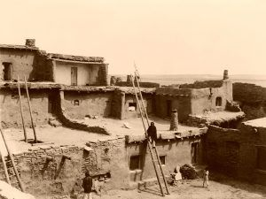 Zuni Pueblo, NM-Edward S. Curtis, 1903