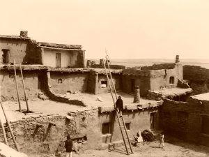 Zuni Pueblo, NM-Edward S. Curtis, 1903
