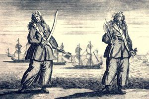 Anne Bonny and Mary Read Pirates