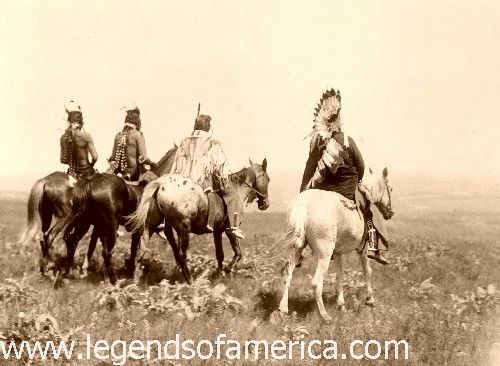 Absaroka (Crow) Warriors