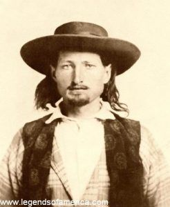 Young Bill Hickok in 1858