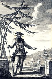 Edward Teach was better known as the infamous pirate, Blackbeard.