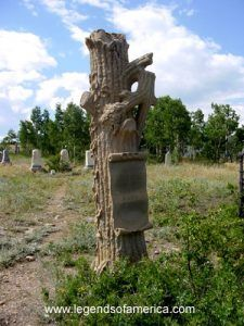 Central City Colorado - Grave