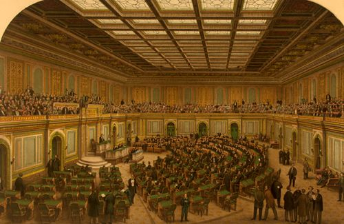 U.S. Congress, E. Sachse and Co, 1866