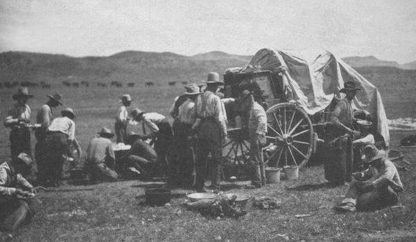 Cowboys near Silver City, New Mexico