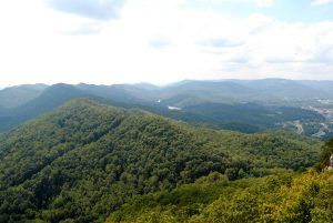 Cumberland Gap, from Pinnacle Peak
