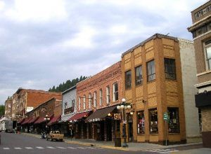 Deadwood, South Dakota by Kathy Weiser-Alexander