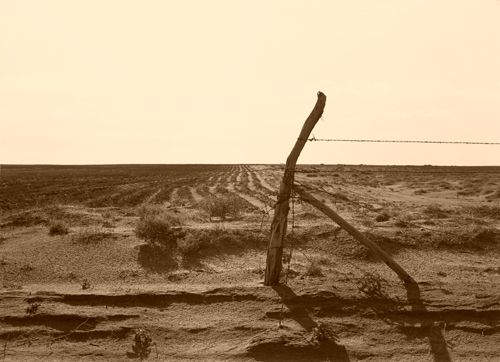 Dustbowl days near Dalhart, Texas, 1938