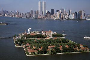 Ellis Island Aerial