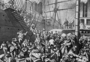 German Immigrants heading to New York