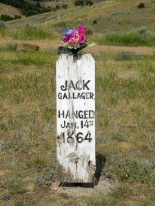 Jack Gallager Headstone