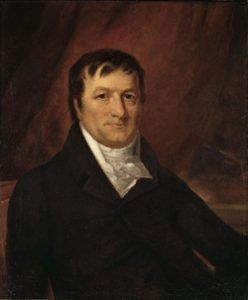 John Jacob Astor, 1825 Portrait by John Wesley Jarvis