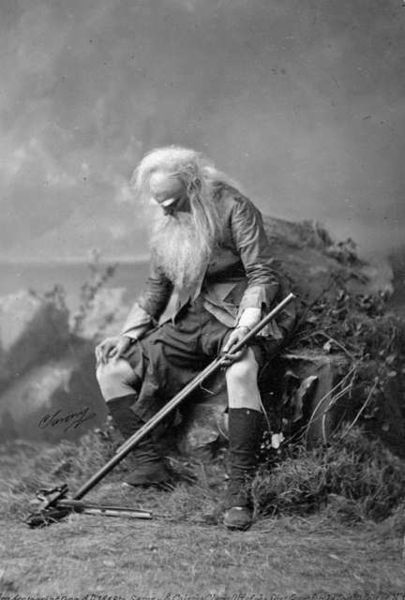 Joseph Jefferson as Rip Van Winkle, 1896