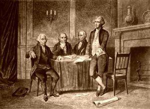 Leaders of the Continental Congress, John Adams, Morris, Hamilton, Jefferson, A. Tholey