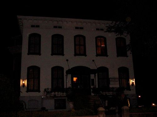 Lemp Mansion at Night