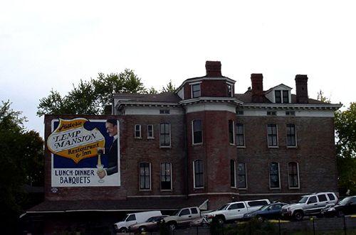 Lemp Mansion Side View