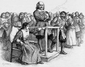 Mary Walcott accuses Giles Corey