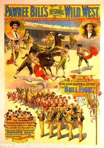 Pawnee Bill Wild West Show, 1898, Strobridge Litho. Co