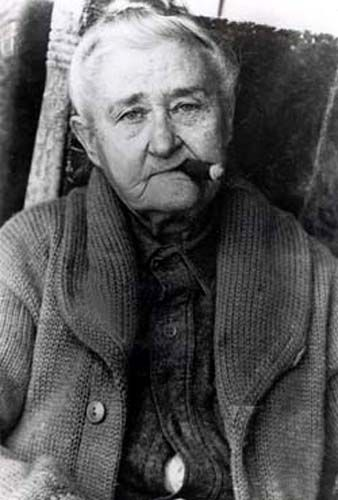 Poker Alice in later years