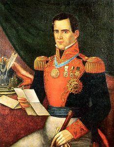 Mexican General Santa Anna
