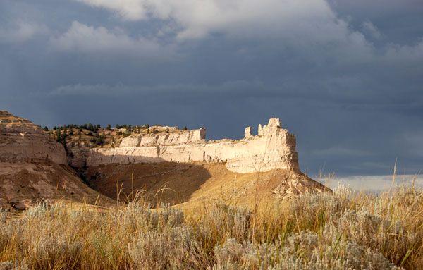 Scott's Bluff, Nebraska on the Oregon Trail
