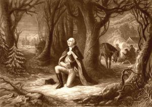 The prayer at Valley Forge, by H. Brueckner