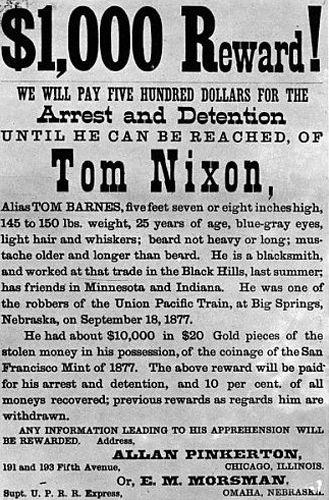 Tom Nixon Reward