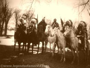 Tribal Leaders by Edward S. Curtis, about 1900