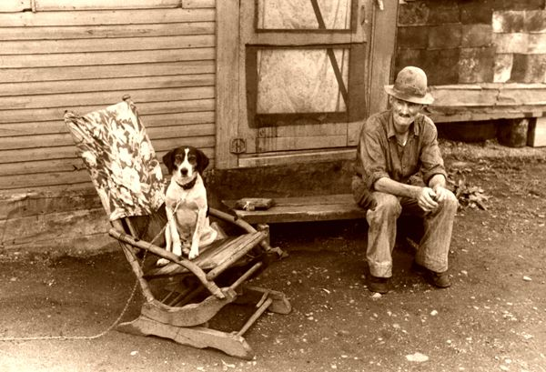 Unemployed Farmer, 1938