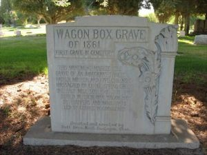 Wagon Box Grave