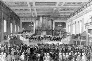 Anti-slavery meeting, by Thomas H. Shepherd