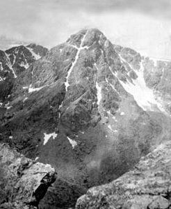 Mount of the Holy Cross by William Henry Jackson