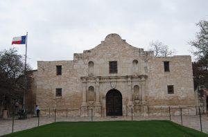 The Alamo in San Antonio, Texas by Kathy Weiser-Alexander.