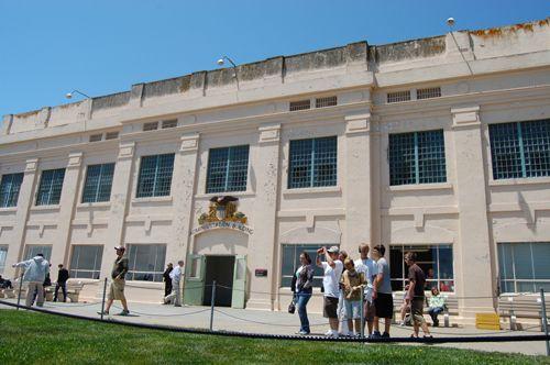Alcatraz Administration Building by Kathy Weiser-Alexander.