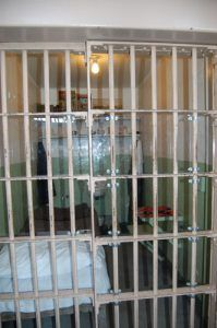 A cell in Alcatraz by Kathy Weiser-Alexander.