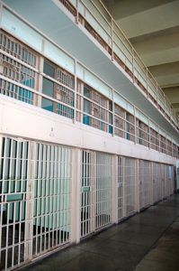 Cell block at Alcatraz today, July, 2009, Kathy Weiser