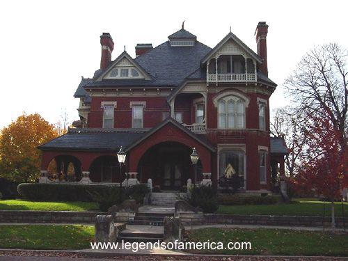Gargoyle House in Atchison, Kansas