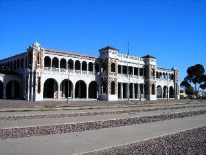 The Casa Del Desierto Harvey Hotel in Barstow, California, by Kathy Weiser-Alexander.