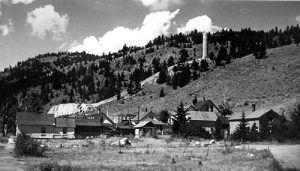 Basin, Montana, 1940s