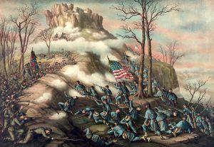 Battle of Lookout Mountain, Kurz and Allison,1889