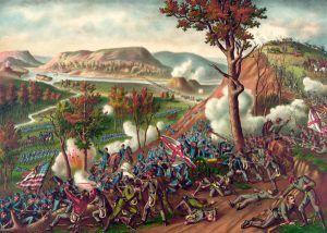 Battle of Missionary Ridge, Kurz and Allison,1886